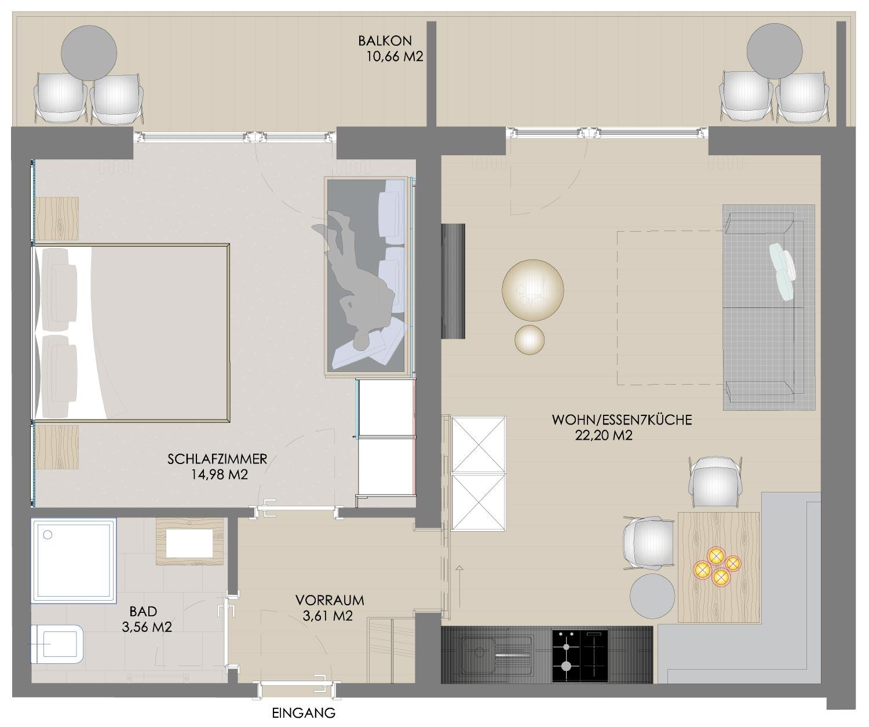 План этажа Бергкле