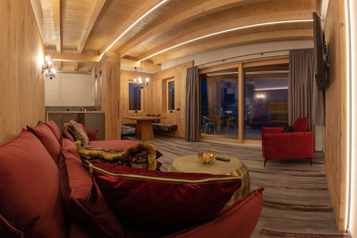 Goldklee Wohnzimmer