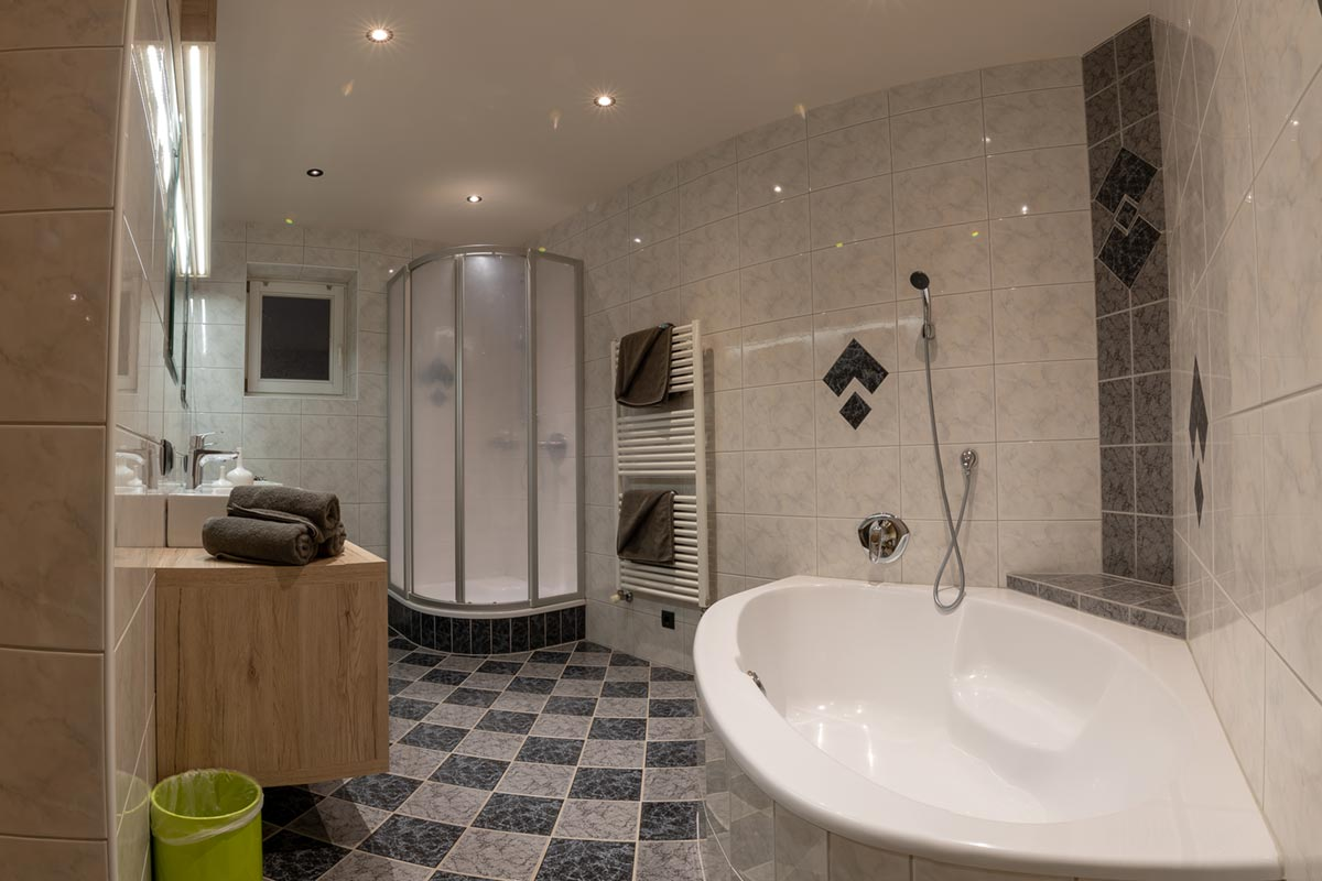 Wiesenklee Badezimmer